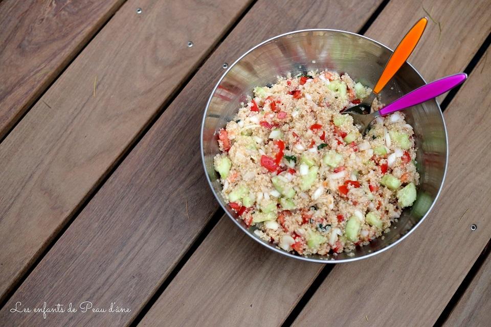 Saladier taboulé au quinoa b