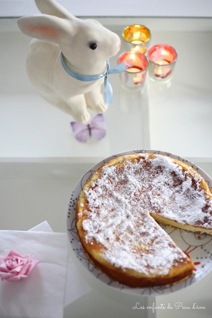 Gâteau coupé vu de haut b