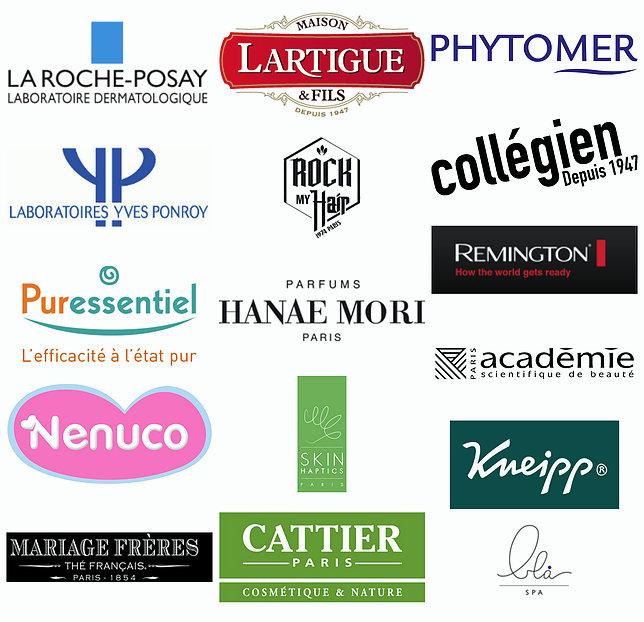 Logos marques partenaires