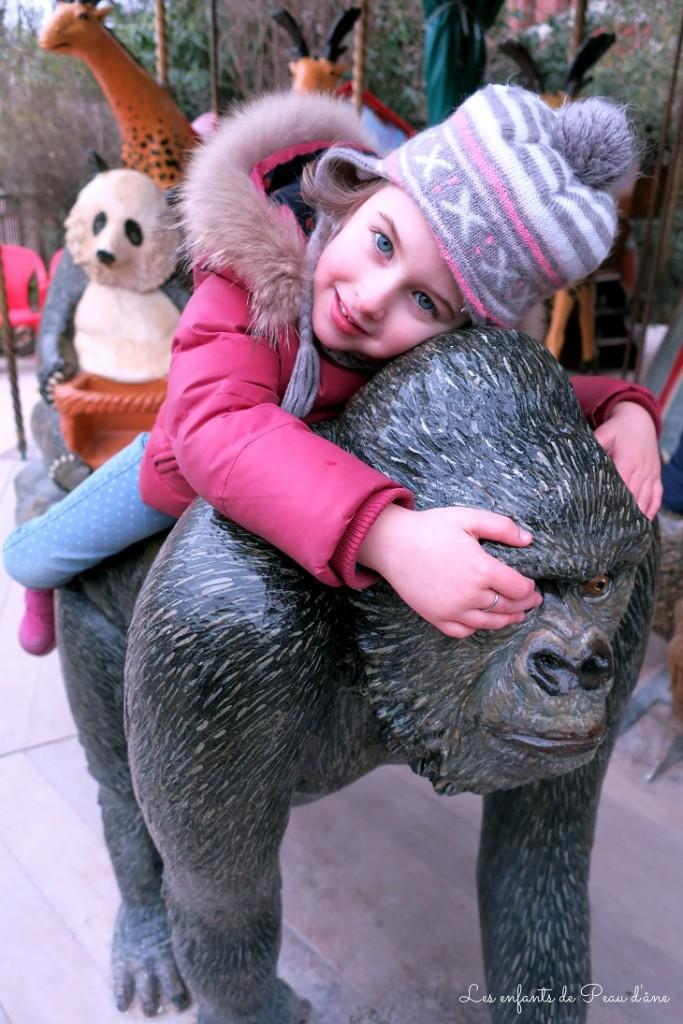 Manège gorille b