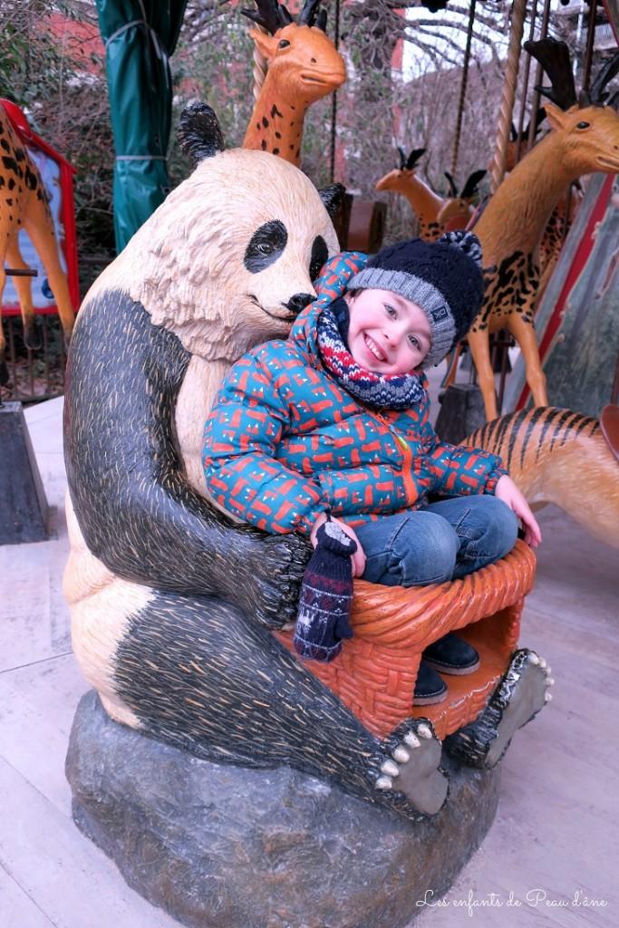 Manège panda b