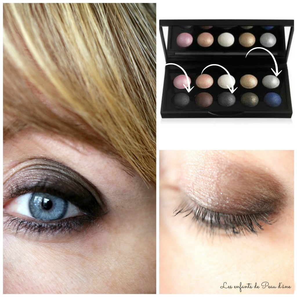 Montage smoky eyes