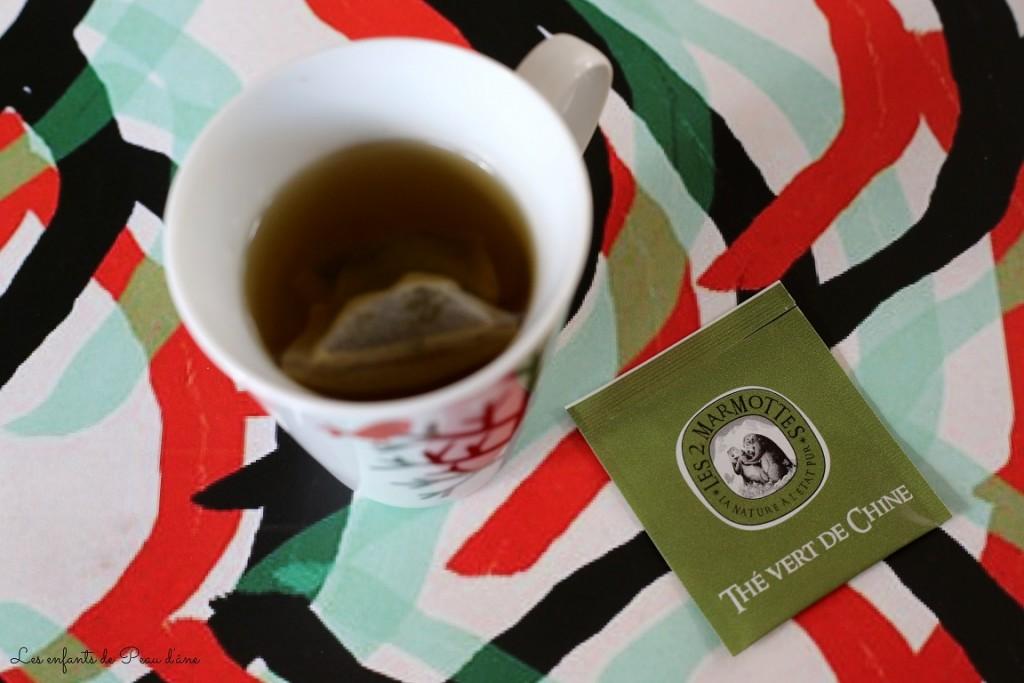 Thé vert de Chine b