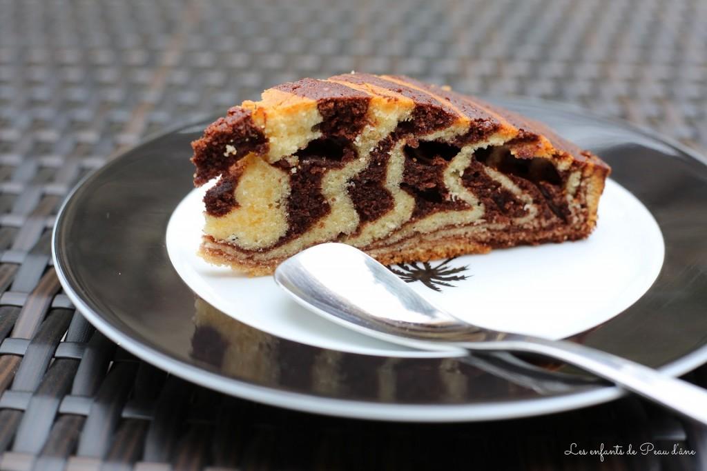 Tranche de gâteau b