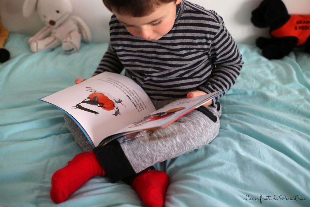 Chaussettes rouges b