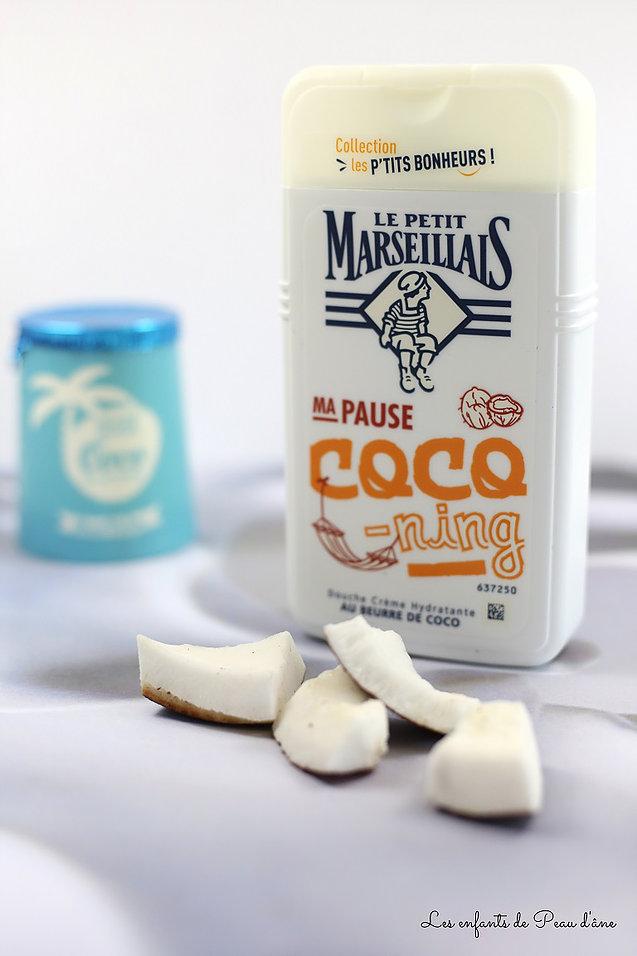 Gel douche beurre de coco